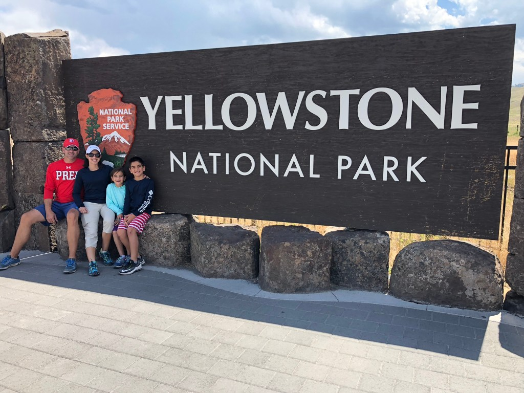 Yellowstone Sign Family