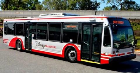 Disney bus transportation for Disney World Value Resorts