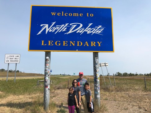 North Dakota sign