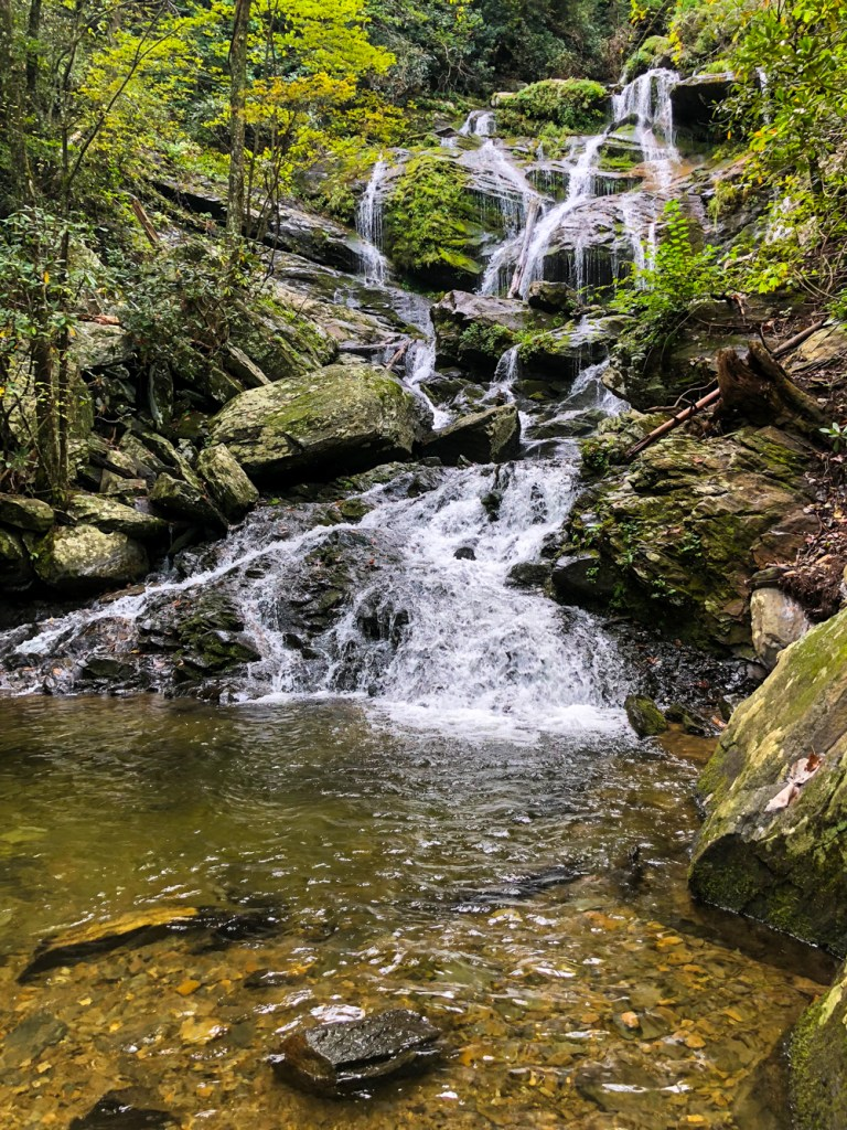 catawba falls kid friendly hiking trails