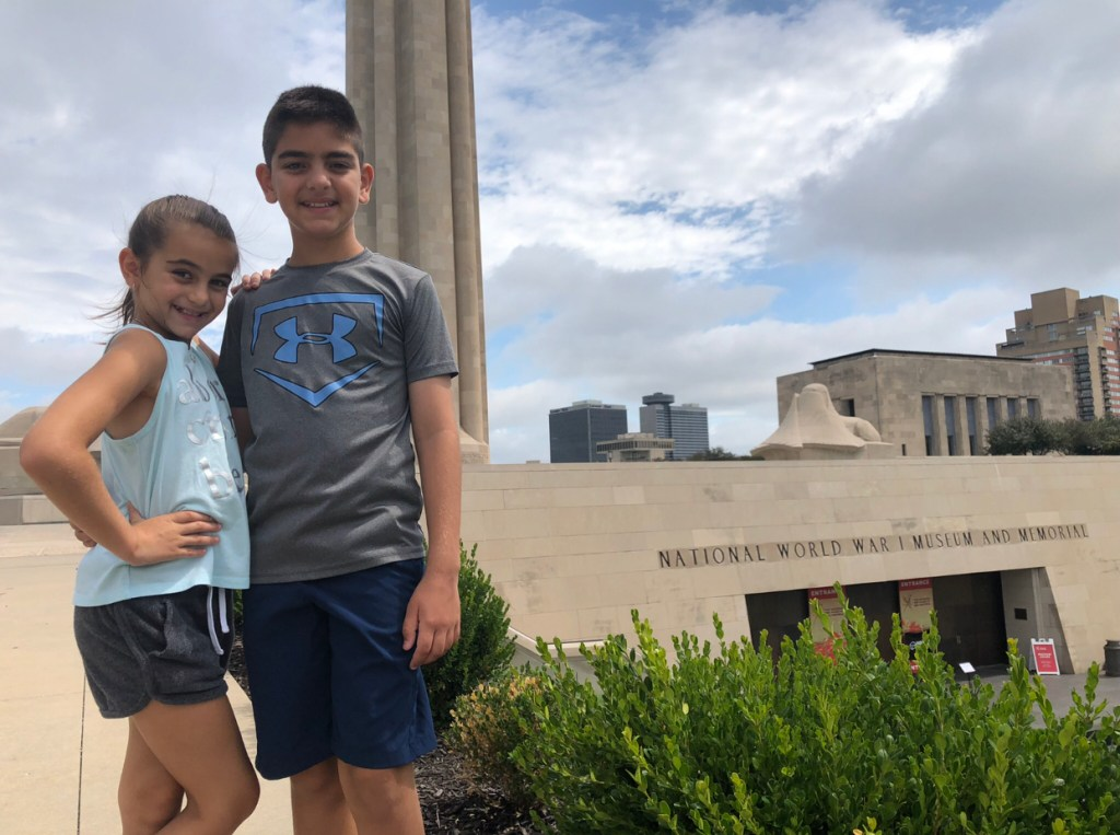 WWI Museum and Memorial kids