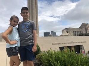 WWI Museum and Memorial kids