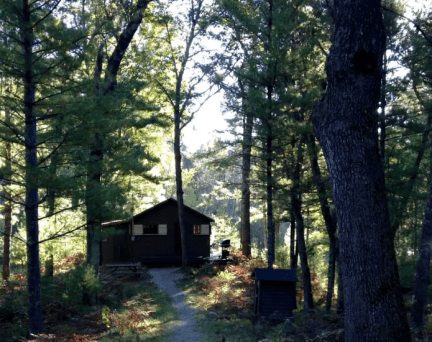Things to do in Michigan with kids glamping