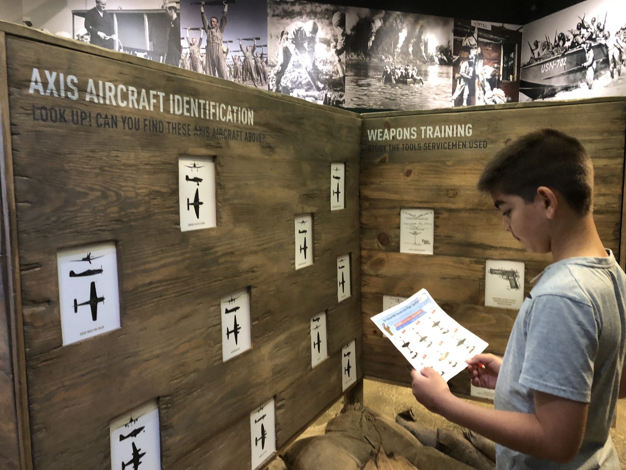 New Orleans WWII Museum Activity sheet