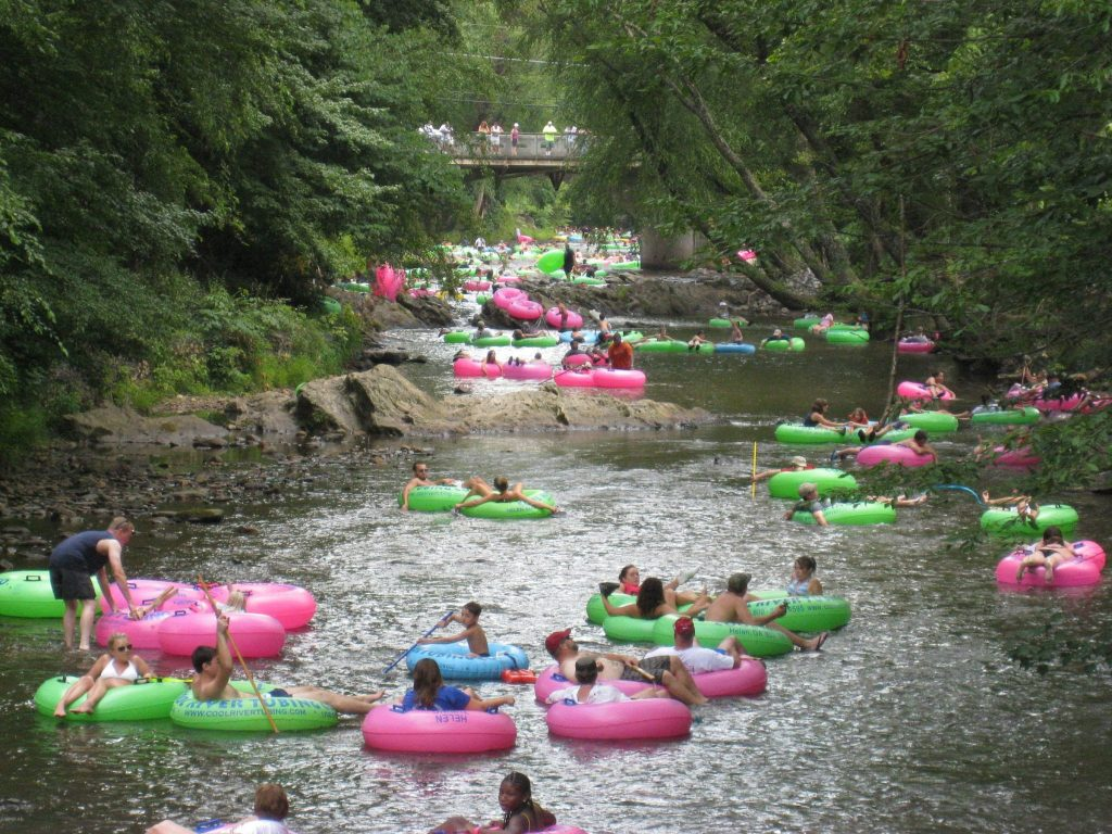 Helen GA things to do river tubing