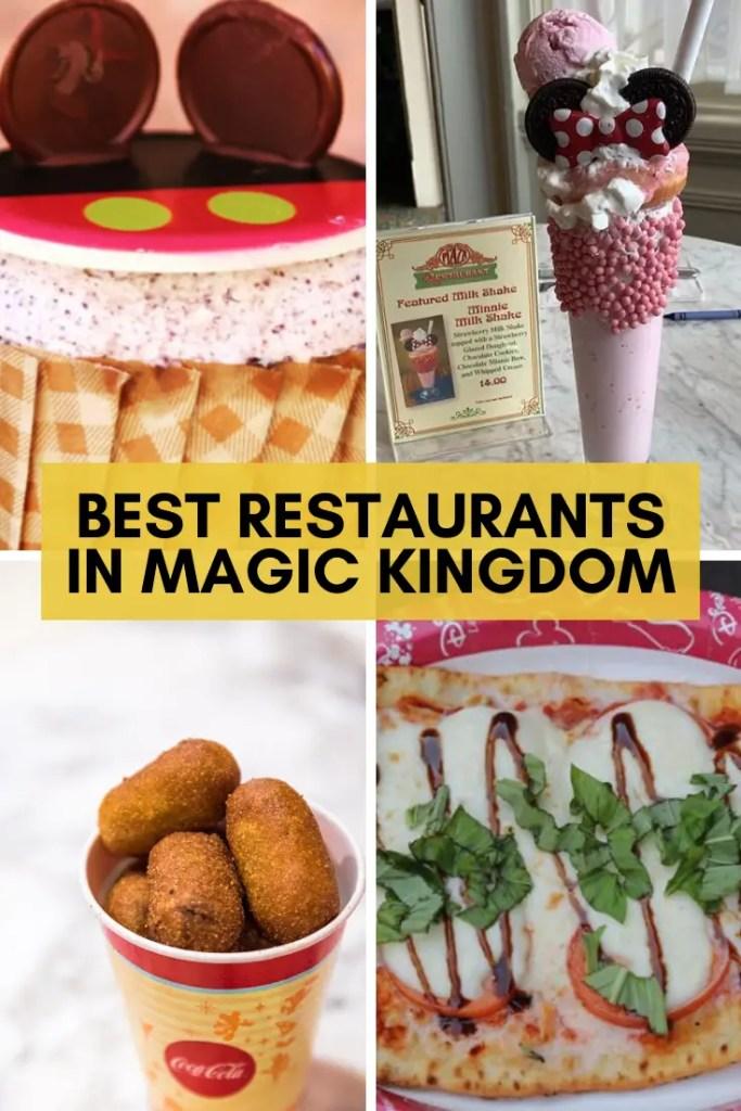best restaurants in magic kingdom pin