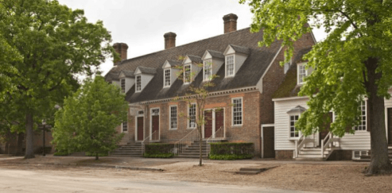 Colonial Williamsburg for kids - hotels