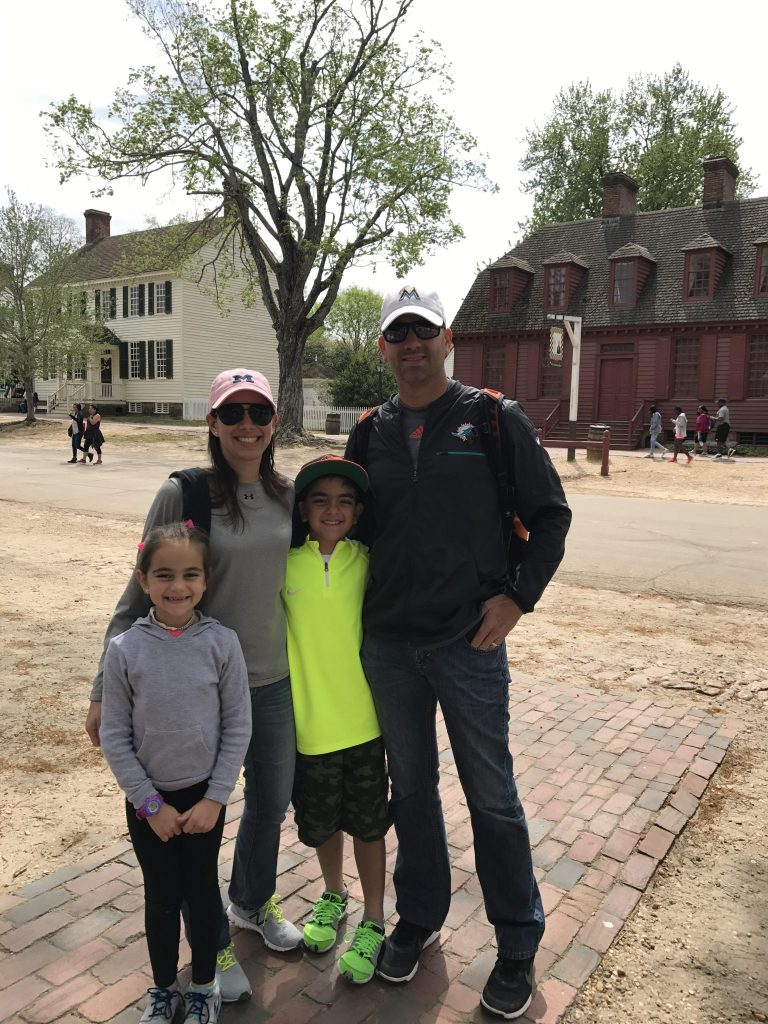 Colonial williamsburg for kids Family