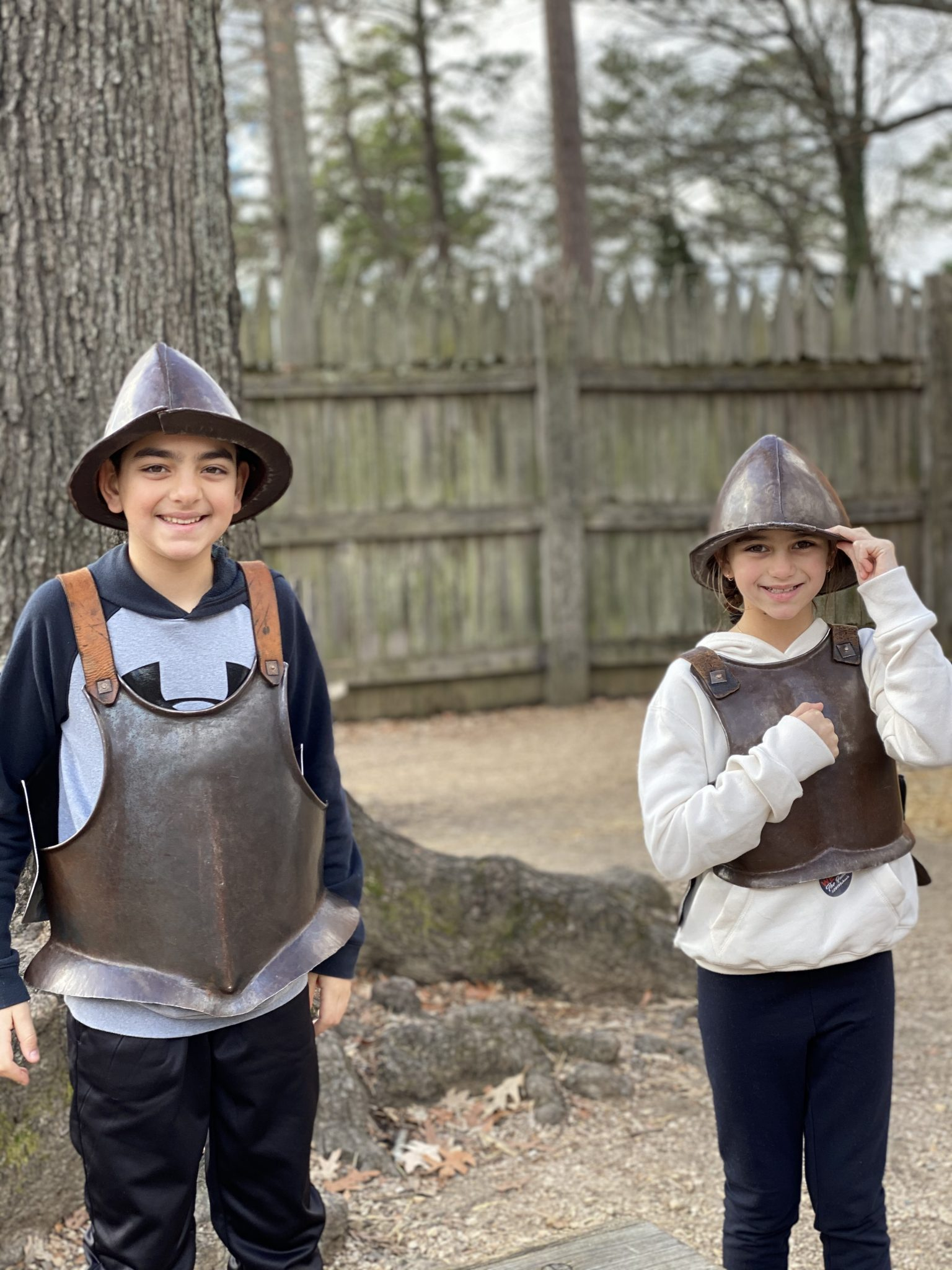 Jamestown Settlement Kids