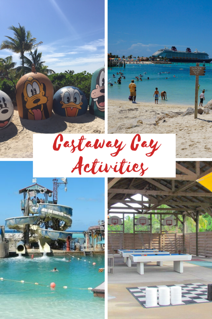 Castaway Cay Activities Pin