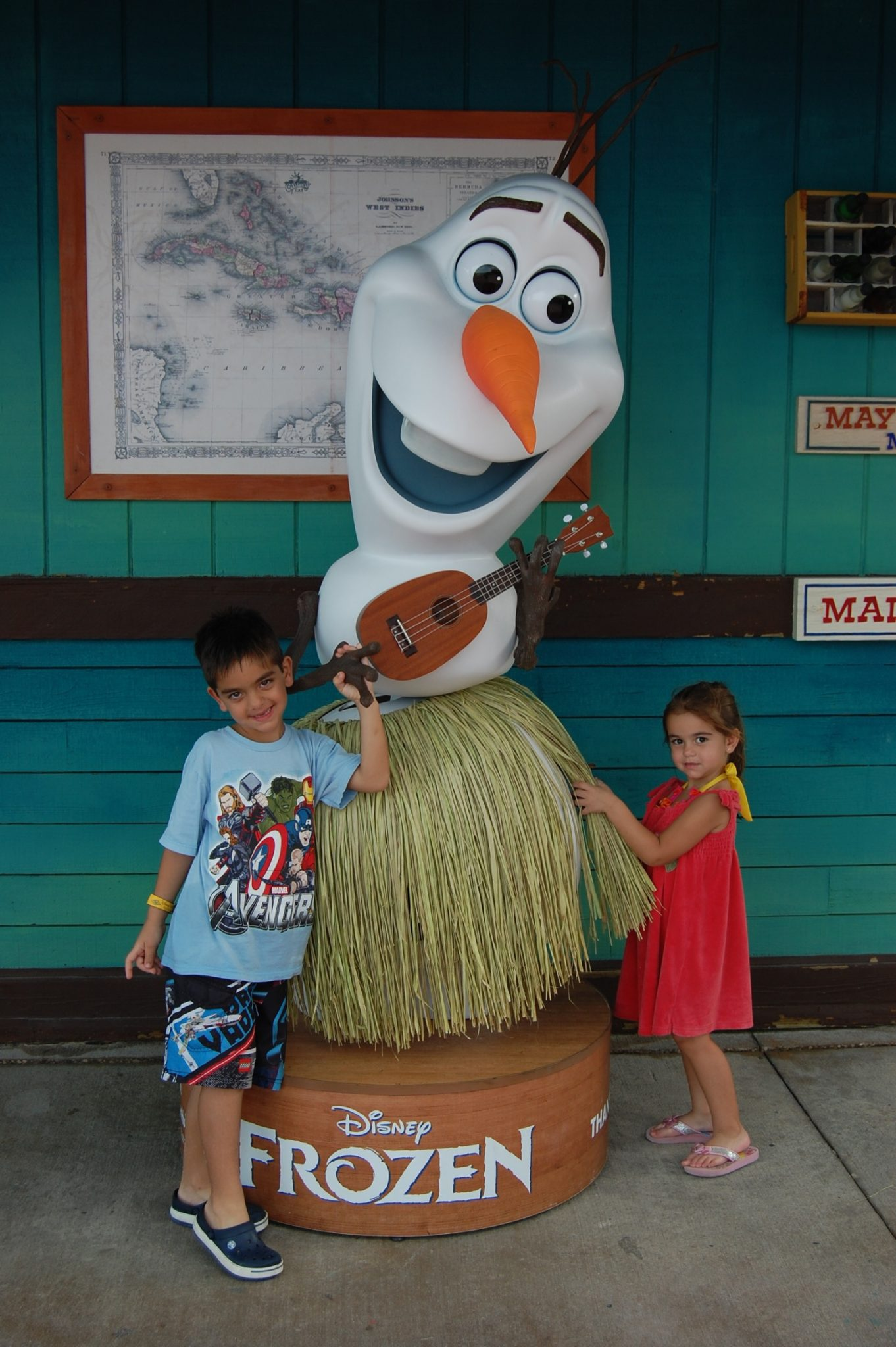 Things to do on Castaway Cay photo opps