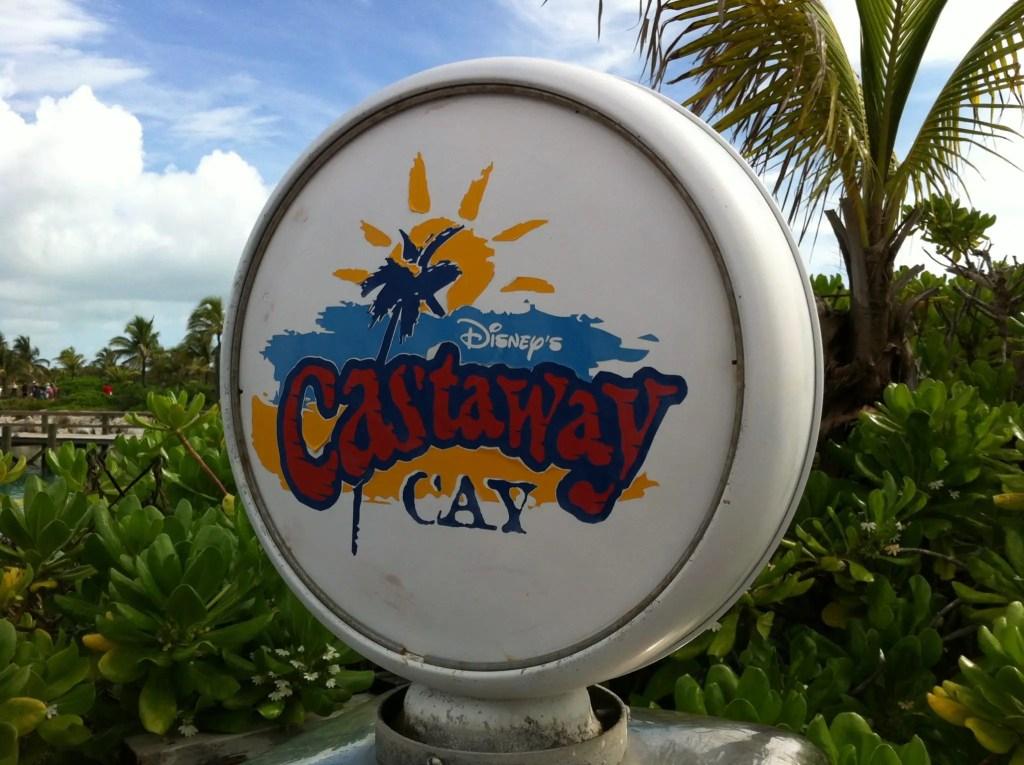 Castaway Cay Sign