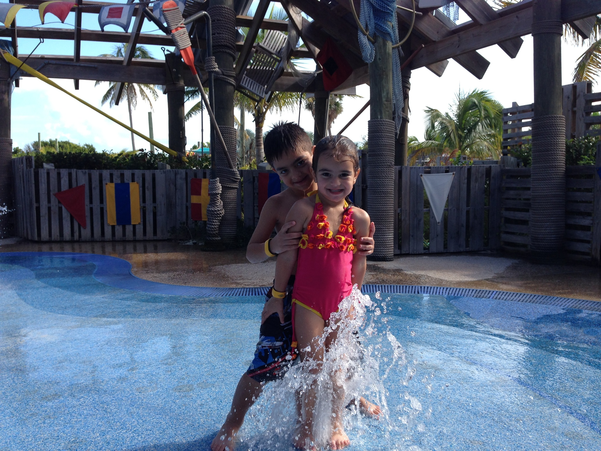 Splash Pad kids
