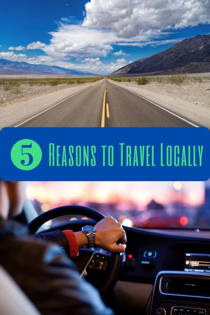 Travel Locally pin