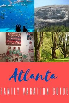 Atlanta family pin
