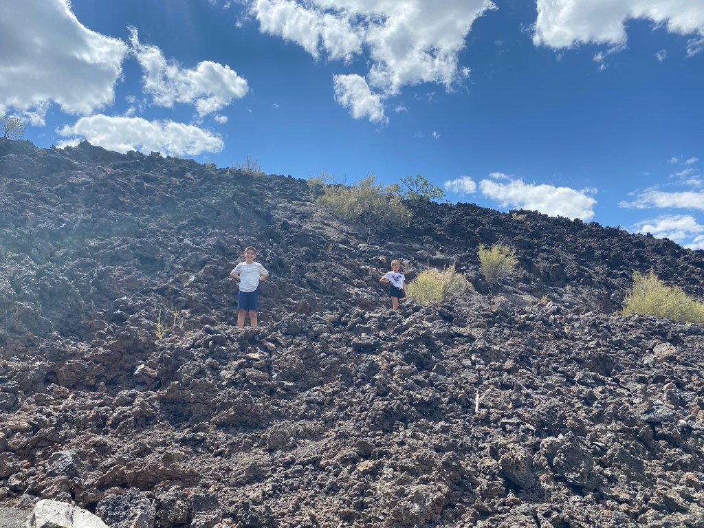 Sunset Crater lava