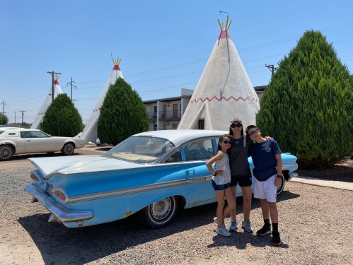 Wigwam cross country travel