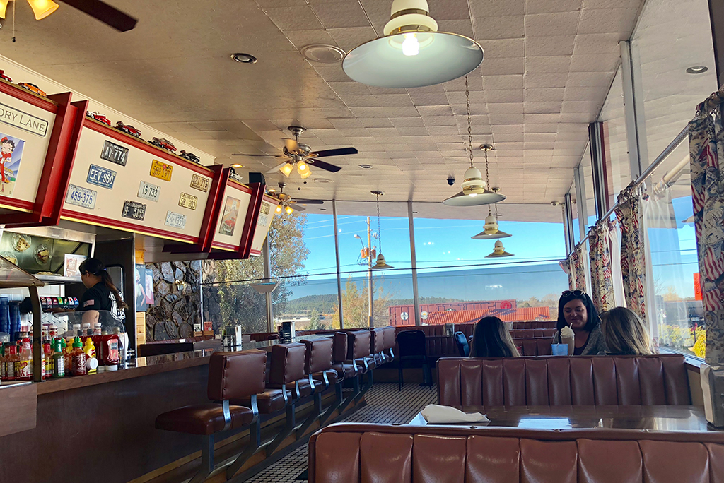 Route 66 Diners Interior