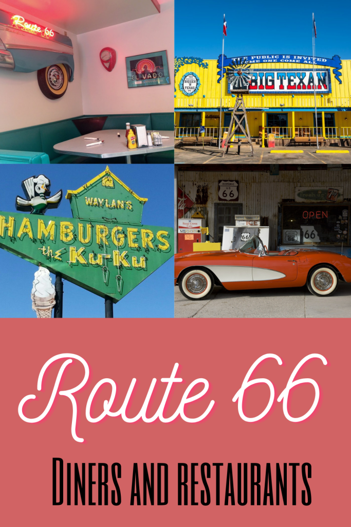 Route 66 diners pin 3