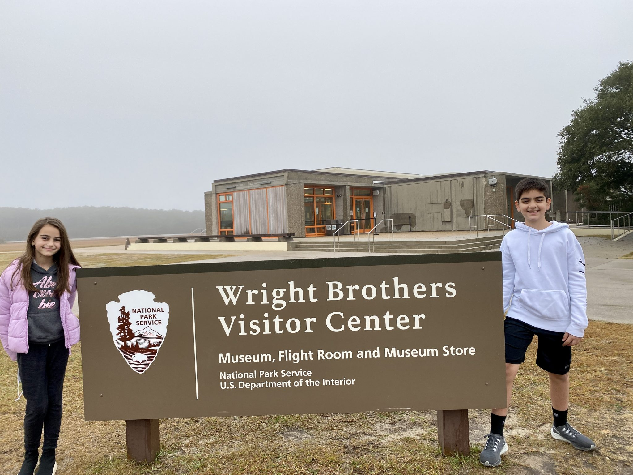 National Park Vacations Kids Wright Brothers