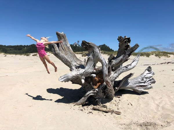 best family vacation beaches Newport OR