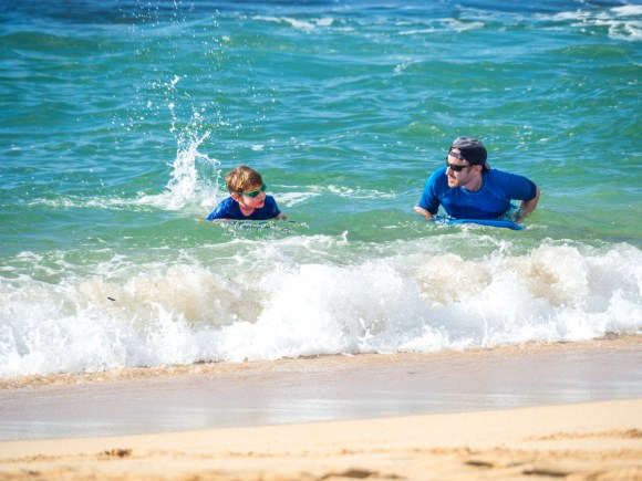 best family vacation beaches Oahu
