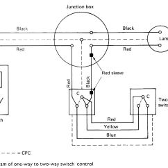 Two Way Switch Wiring Diagram For Lights 2006 Impala Abs 4 Multiple With A
