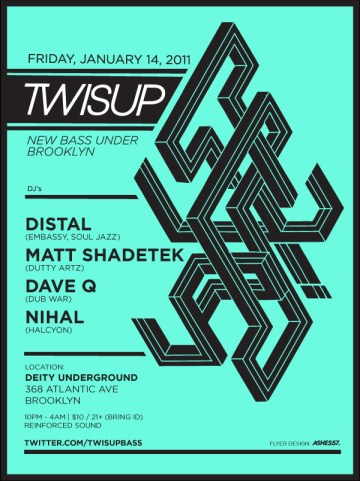 twisup flier with matt shadetek and distal