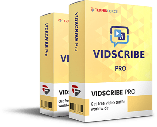 VidScribe AI PRO v3.6 Full Activated – Videos Marketing Tool – Discount 100% OFF