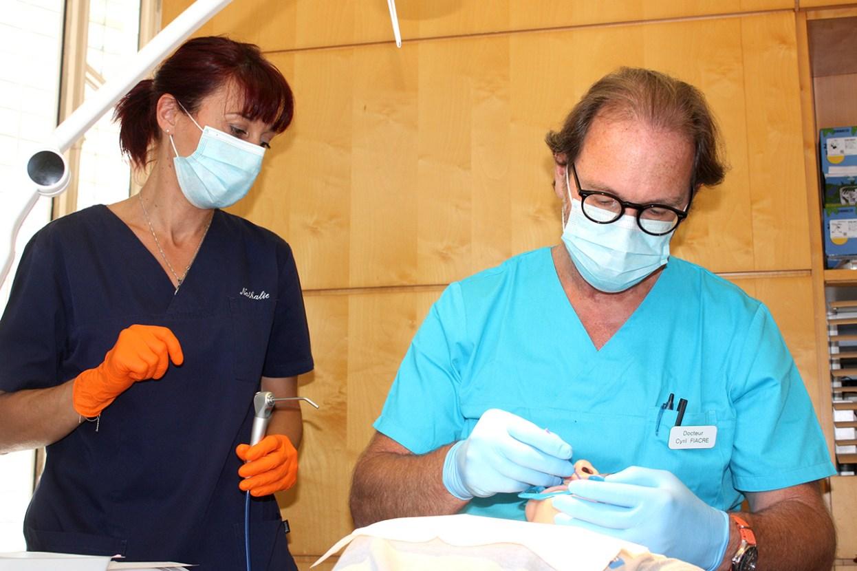 Dr Fiacre - Assistante Nathalie