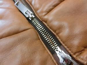 レザージャケットファスナー修理6