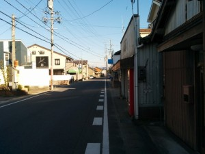 福岡町バス停工事3