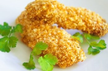 pankos chicken tenders, chicken tenders recipe on dr oz, pankos encrusted chicken tenders