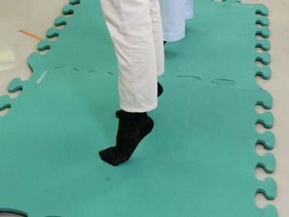 (5) つま先立ち運動! 熊本中央病院 Dr.テレビたんスタッフブログ KKT!醫療ナビ Dr.テレビたん