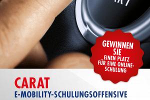 Flyer CARAT E-Mobility Schulung