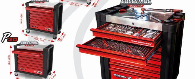 Performance Plus Werkstattwagen von KS Tools