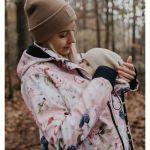 Zwangerschaps- en draagjassen en truien en draagaccessoires