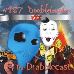 Cover for Drabblecast episode 187, Doubleheader 7, by Brent Holmes