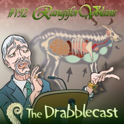 Cover for Drabblecast episode 192, Rangifer Volans, by Bo Kaier