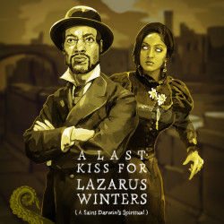 Drabblecast cover for A Last Kiss For Lazarus Winters by Bo Kaier