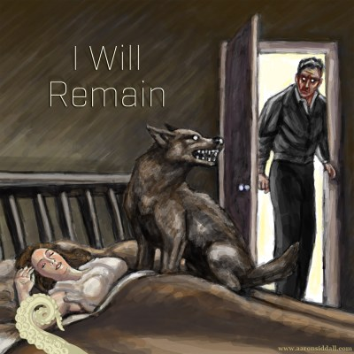 Drabblecast cover for I Will Remain by Aaron Siddall