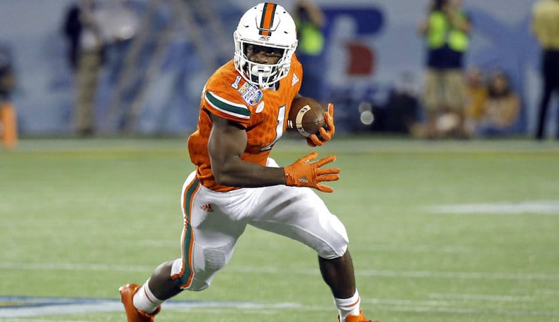 Mark Walton, RB, Miami