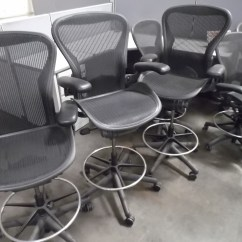 Aeron Chair Drafting Stool Troutman Rocking Chairs Used Stools Hopper 39s Furniture