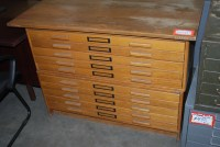 Used Flat Files, Roll Files & Plan Racks