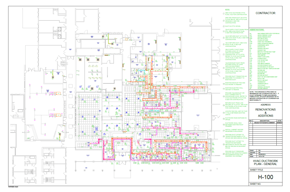 medium resolution of duct shop drawings