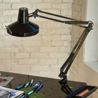 Alvin Swing-Arm Combination Lamp, Color: Black or White ...