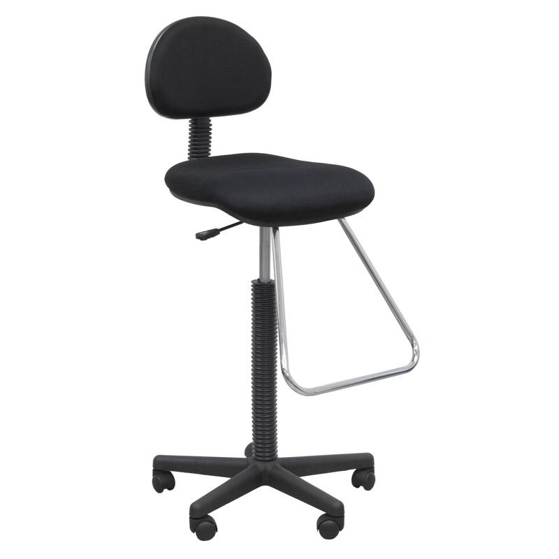 drafting table chairs orange bean bag chair walmart studio designs zenith set color black 32640