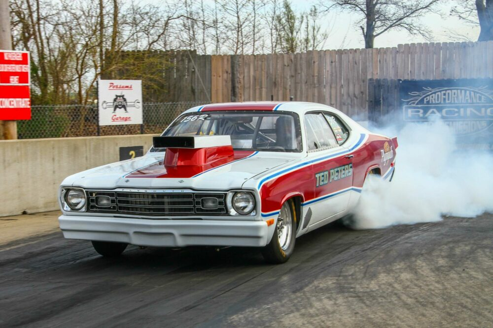 """TED PETERS WINS 2014 NOSTALGIA PRO STOCK """"BLACK ARROW CUP"""" AT ..."""