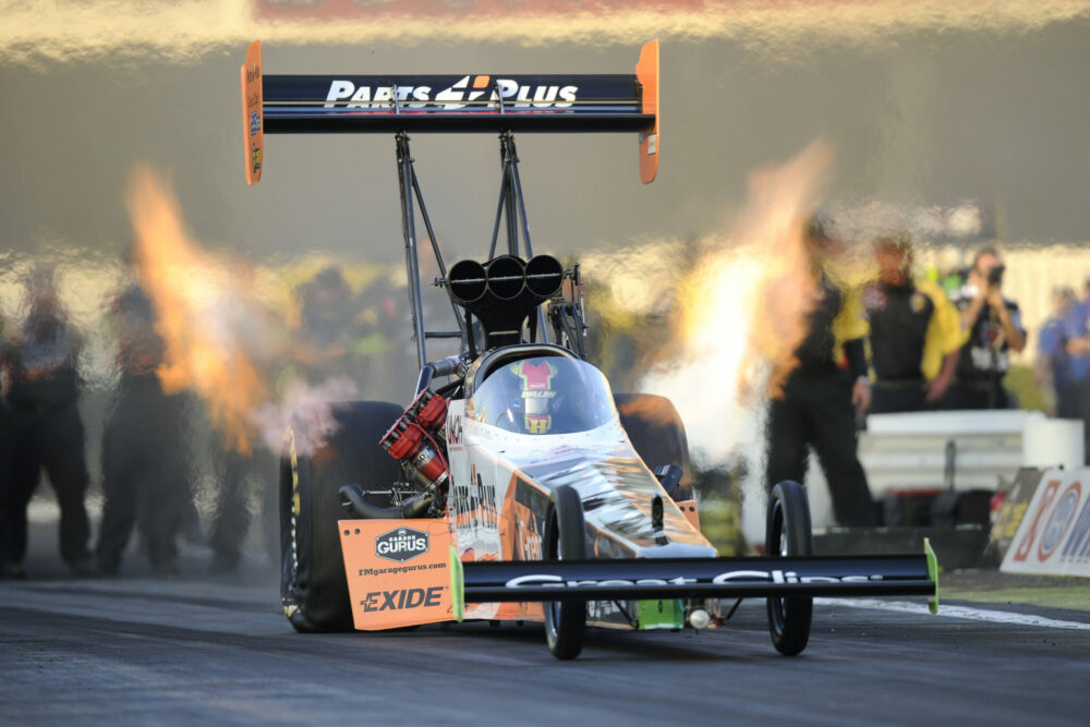 CLAY MILLICAN READY TO BECOME LATEST FIRST-TIME NHRA TOP FUEL WINNER AT  DENSO SPARK PLUGS NHRA NATIONALS d64ab8f6758d