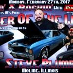 Steve Plumb is JB's Pick for Racer of the Week: February 27th!
